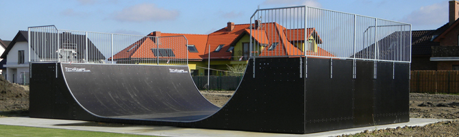 Techramps skate ramps